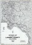 Lassen County 1980 to 1996 Mylar, Lassen County 1980 to 1996